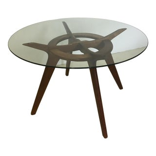 Adrian Pearsall Compass Dining Table For Sale