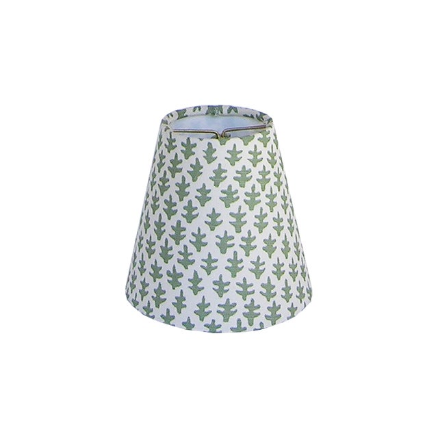 Fern Green Sconce or Chandelier Shade For Sale - Image 4 of 4