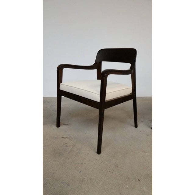 Mid-Century Modern Pair of Dunbar Riemerschmid Chairs For Sale - Image 3 of 5
