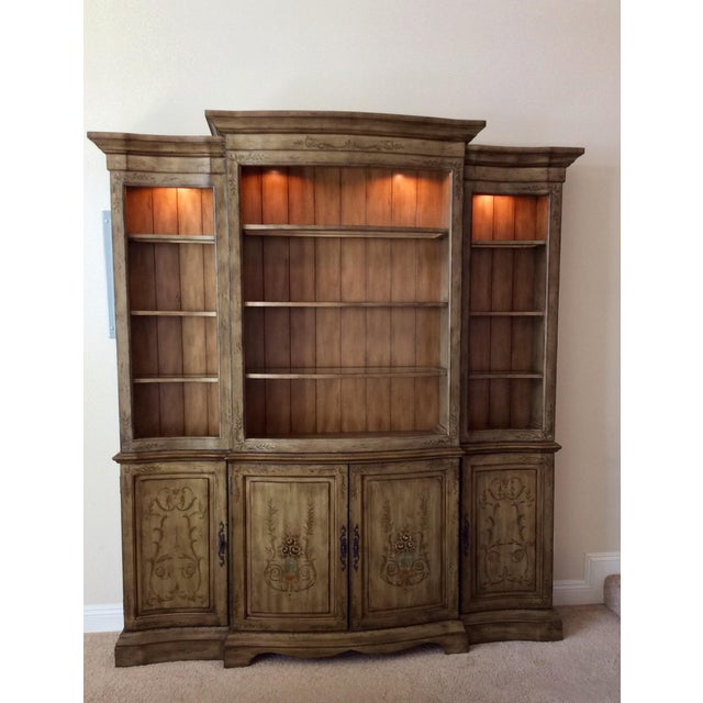French Media Entertainment Credenza by Hooker (Seven Sea's) For Sale - Image 3 of 12