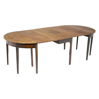 George III Mahogany Dining Table For Sale