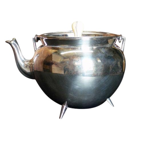 Christopher Dresser Silver Teapot For Sale
