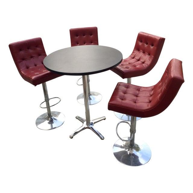 Retro Leather Bar Set - Image 1 of 5