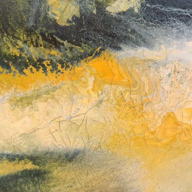 Mid-Century Abstract Expressionist Painting - Image 6 of 10