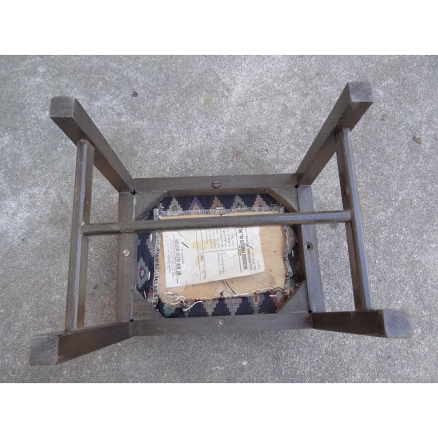 Antique Chippendale Salesman Sample Doll Footstool For Sale - Image 5 of 11