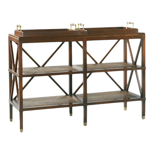 Southampton Tiered Tray Console from Kenneth Ludwig Chicago For Sale