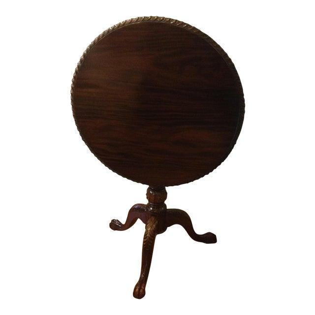 Georgian Rosewood Tilt-Top Pedestal Table For Sale