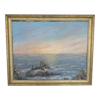 Oregon Coast Sunset Painting For Sale