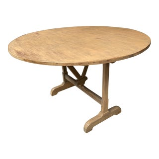 French Wine Tasting Folding Table For Sale