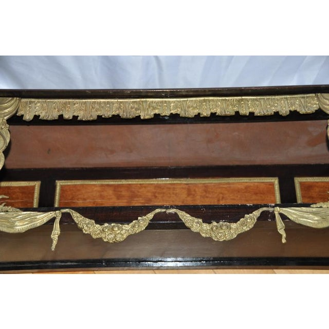 Antique Louis XVI Style Console After Design by Jean-Henri Riesener For Sale - Image 10 of 13