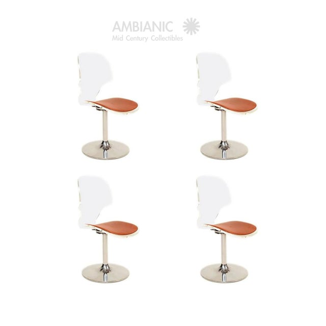 Lucite Dining Chairs by Hill Company - Set of 4 For Sale - Image 10 of 10