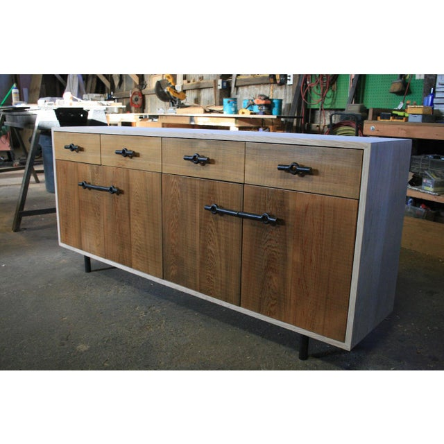 Industrial Franklin Credenza/Sideboard For Sale - Image 4 of 8