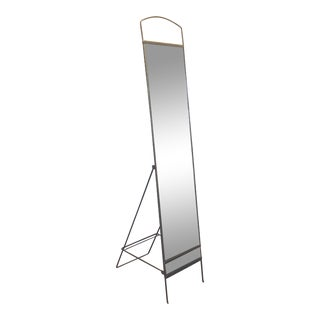 Iron Chevel Full Length Dressing Mirror For Sale