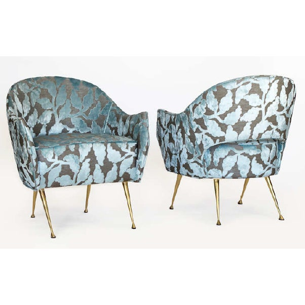"""Mid Century Style """"La Briance"""" Chairs - a Pair For Sale In New York - Image 6 of 6"""