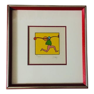 Peter Max Limited Edition Signed/Numbered Lithograph Print