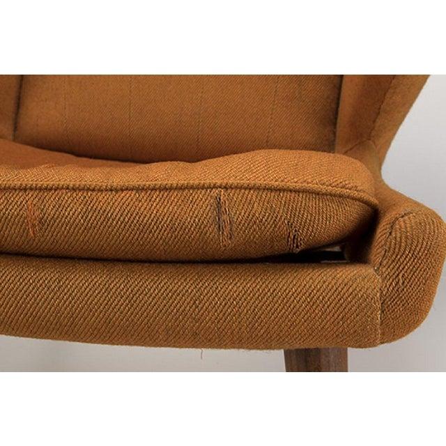 Danish Modern Hans Wegner Papa Bear Chair For Sale - Image 3 of 6