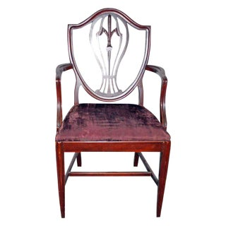 Carved Wooden Chair For Sale
