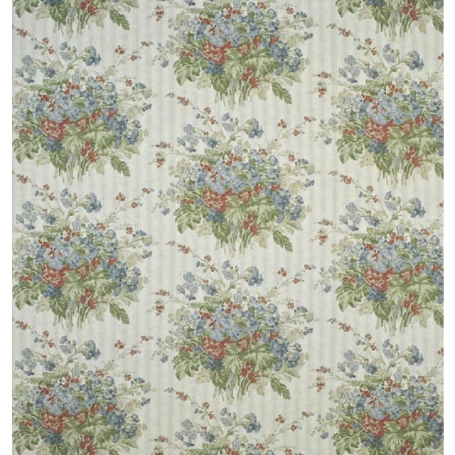 "Ralph Lauren Floral Slate ""Meeting House"" Fabric - Image 2 of 2"