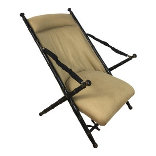 1940s Campaign Style Sling Chair
