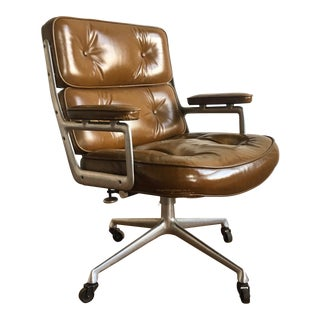 1970s Mid-Century Modern Herman Miller Eames Time Life Executive Chair