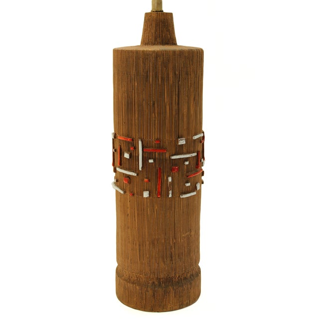 Aldo Londi Mid-Century Ceramic Lamp - Image 3 of 7