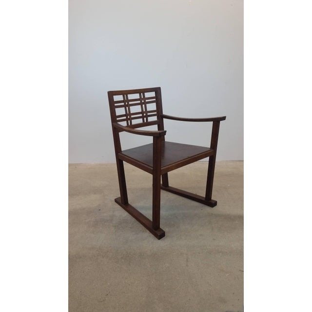 Scottish Art and Crafts Chair For Sale - Image 9 of 9