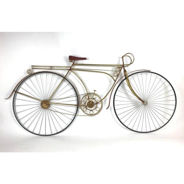 1980s Vintage C. Jere Ten Speed Racing Bicycle Metal Wall Sculpture For Sale In Atlanta - Image 6 of 6