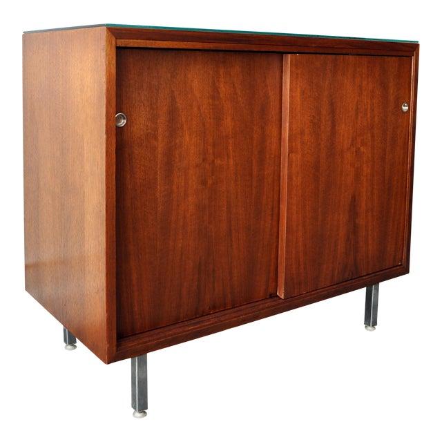 Mid-Century Modern Walnut Cabinet - Image 1 of 10