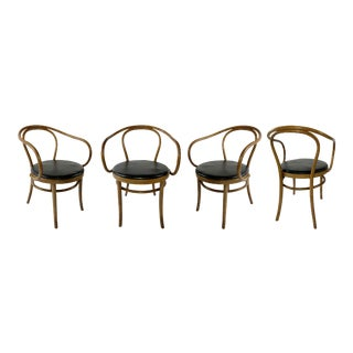 Thonet Bentwood Dining Chairs - Set of 4 For Sale