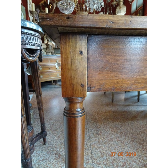 French Directoire Side Table For Sale - Image 4 of 11