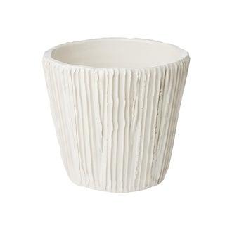 Alpine White Cachepot For Sale