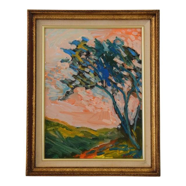 "Original Juan ""Pepe"" Guzman, Ojai California Plein Air Landscape Painting For Sale"