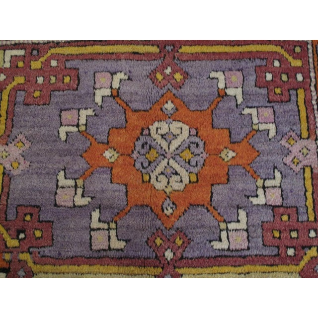 Cotton Yuntdag Carpet For Sale - Image 7 of 9