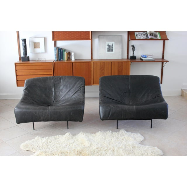Vintage Gerard Van Den Berg Butterfly Chairs- a Pair For Sale - Image 10 of 10