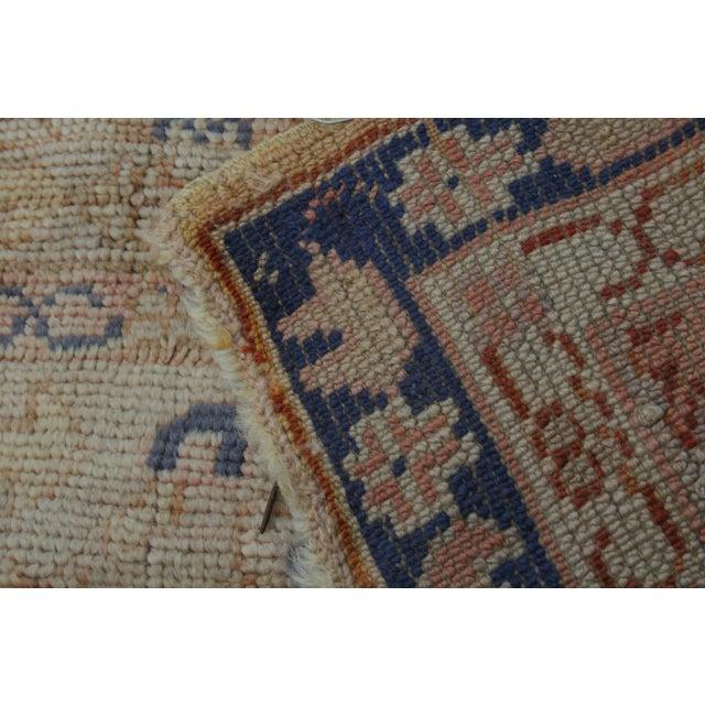 Semi-Antique Turkish Oushak Rug - 10′ × 13′3″ For Sale - Image 12 of 13