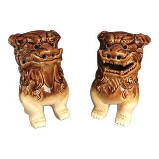Vintage Foo Dogs- A Pair For Sale