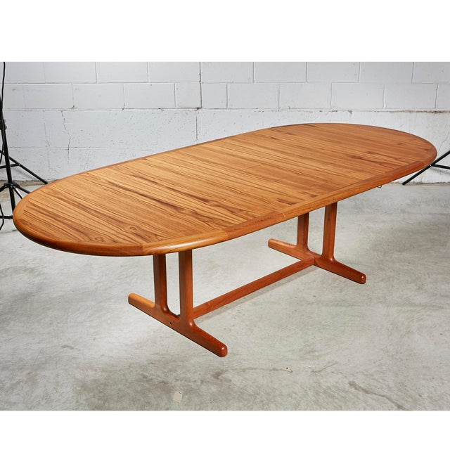 1970s Teak Dining Table & Chairs For Sale - Image 4 of 13