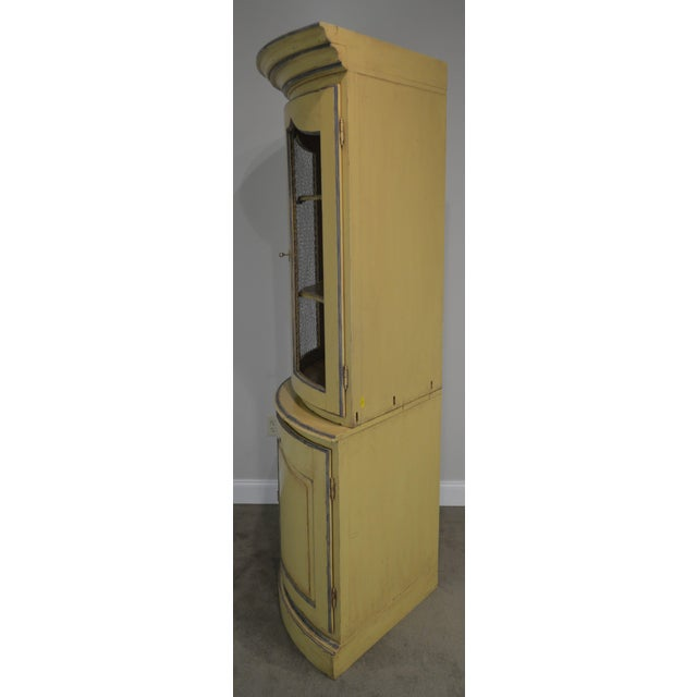 French Country Style Corner Cabinet For Sale In Philadelphia - Image 6 of 13