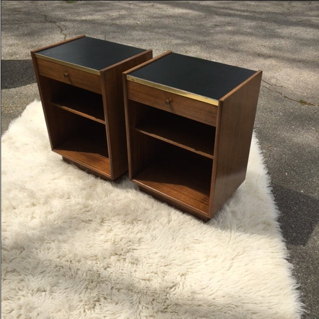 Harvey Prober Bedside Tables - Pair - Image 4 of 11