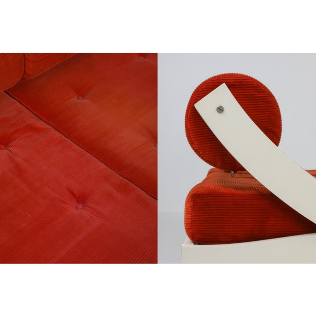 1960s Gs195 Daybed and Sofa by Gianni Songia For Sale - Image 10 of 11