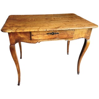 Louis XV Period Fruit-Wood Side Table For Sale