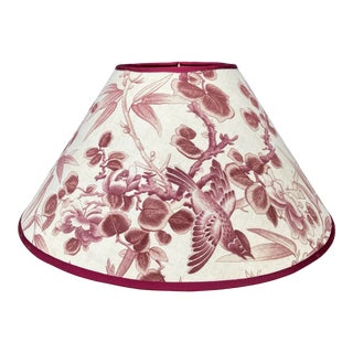 Antique Fabric Lampshade For Sale