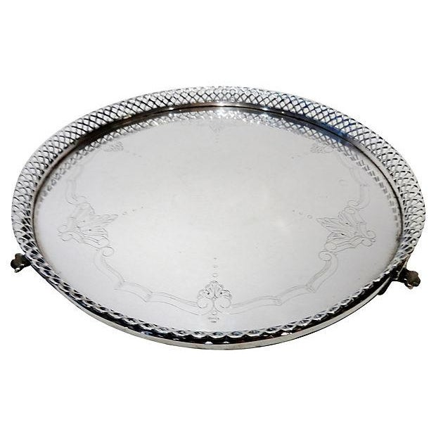 Portuguese Silver Salver - Image 3 of 6
