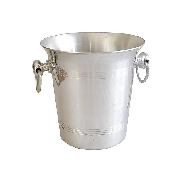 Vintage French Hanns Kornell Champagne Bucket For Sale In Los Angeles - Image 6 of 7
