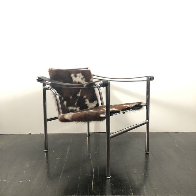 Vintage Le Corbusier Cassina Lc1 Chair For Sale - Image 13 of 13