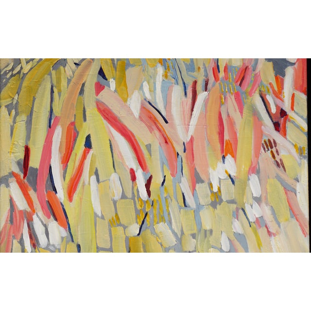 """""""Procession"""" Abstract Painting by Laurie MacMillan - Image 3 of 4"""