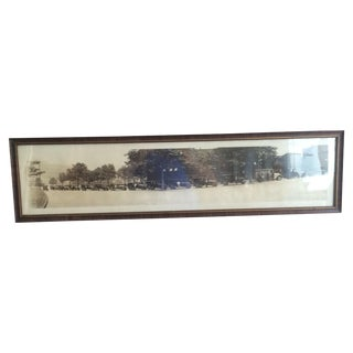 1924 Nash Car Dealership Panoramic Photo For Sale