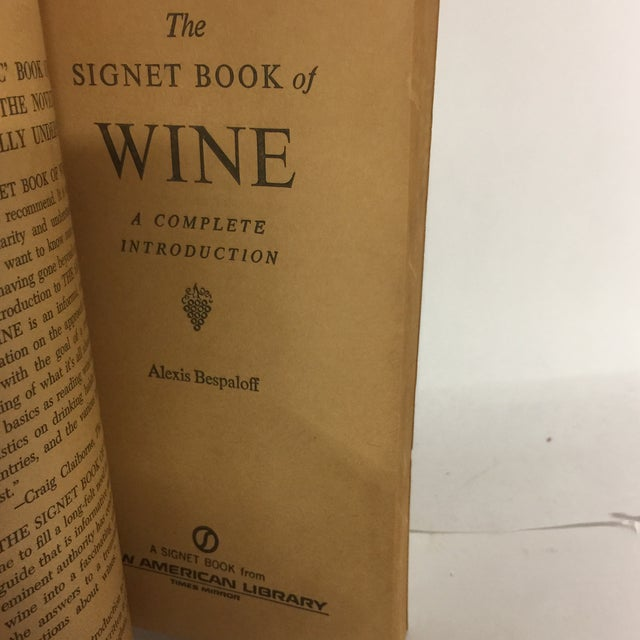 Paper Vintage Wine Themed Books - A Pair For Sale - Image 7 of 10