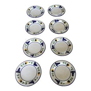 Dansk San Nicolo Salad Plates - Set of 8