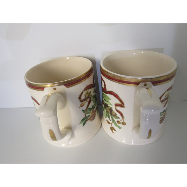 Christmas Mugs by Tiffany & Co - A Pair For Sale - Image 10 of 13